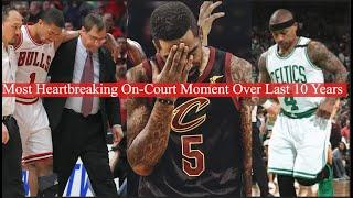 Every NBA Teams Most Heartbreaking On-Court Moment Over Last 10 Years