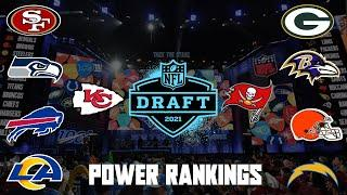 Top 10 NFL Power Rankings Post 2021 NFL Draft