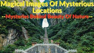 Top 10 Magical Images Of Mysterious Locations | Mysterious Place Undertale | Dread Mysteries*