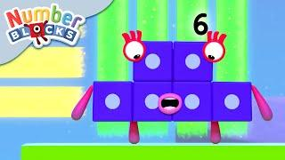 Numberblocks - Top of the Ladder | Learn to Count