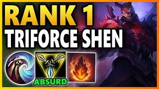 THIS DIAMOND 1 YASUO DIDN'T RESPECT SHEN'S EARLY GAME! Season 10 Shen Gameplay | League of Legends