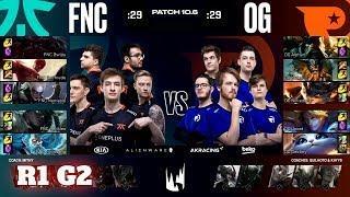 Fnatic vs Origen - Game 2 | Round 1 PlayOffs S10 LEC Spring 2020 | FNC vs OG G2
