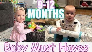 9-12 MONTH BABY MUST HAVES | TOP BABY ESSENTIALS | BEST BABY PRODUCTS 2020