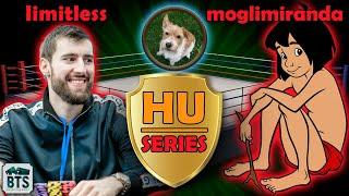 ONLINE POKER HEADS-UP SERIES! limitless vs moglimiranda - MMAsherdog reviews High Stakes Poker