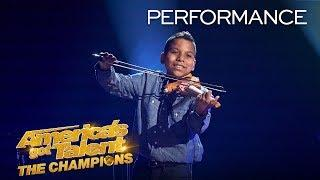 Tyler Butler-Figueroa May Make You Cry With This Emotional Song- America's Got Talent: The Champions