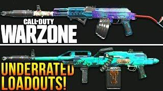 Call Of Duty WARZONE: TOP 5 UNDERRATED Loadouts To Use! (Warzone Best Setups)