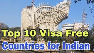 visa free entry for Indian | Top 10 visa free countries for india 2020 | Success Place