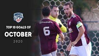TOP 10 GOALS OF THE MONTH   October 2020