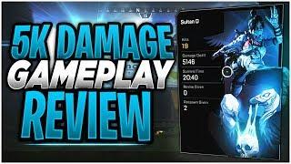 INSANE 5K DAMAGE & 19 KILL Gameplay Review! (Apex Legends High Kill and Damage Decision Making)