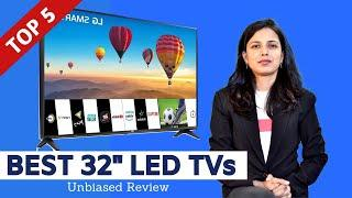 """✅ Top 5: Best LED Smart TVs in India With Price 2020 