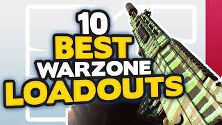 TOP 10 BEST LOADOUTS in WARZONE (Best CLASSES & GUNS) | CoD Warzone Tips