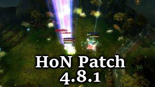 HoN Patch 4.8.1 all heroes SOTM review