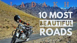 MOST Beautiful ROADS in India|LEH LADAKH Road Trip|Jispa,Rothang Pass,Barlacha La,Keylong,KhardungLa