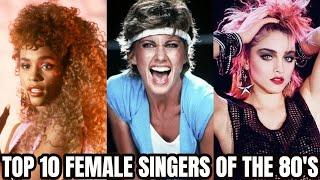 Top 10 Female Singers of The 80's!