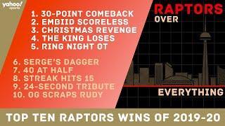 Top 10 Raptors wins of the 2019-20 season (to date)
