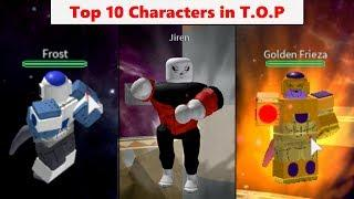 Top 10 Strongest Characters in The Tournament Of Power