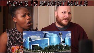 SHOCKING American REACTION to India's TOP 10 Malls !! #india