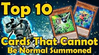 Top 10 Monsters That Cannot Be Normal Summoned in YuGiOh