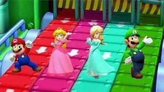 Mario Party The Top 100 MiniGames - Mario vs Luigi vs Peach vs Rosalina (Very Hard Cpu)