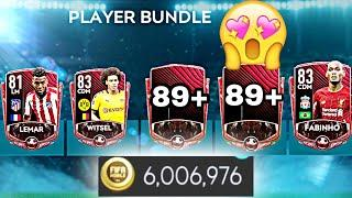 PLAYER BUNDLE PACK OPENING | INSANE PACK LUCK | 6 MILLION COINS | 6+ ELITES PACKED |  FIFA MOBILE 20