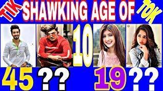 Top 10 Tiktok Stars Real Age And Date of Birth || # Jannat Zubair  #Riyaz