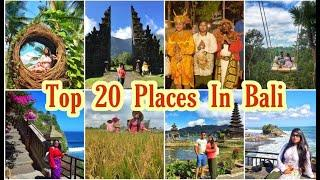 Top 20 places in Bali | Best 20 amazing place to visit in Bali