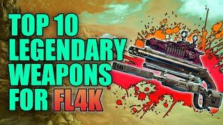 Borderlands 3 | Top 10 Legendary Weapons for FL4K the Beastmaster - Best Guns for FL4K