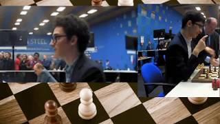 AMAZING Attack!! Fabiano Caruana vs Alireza Firouzja || Tata Steel Chess 2020 - R10