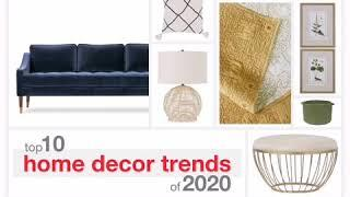 Top 10 Home Decor Trends of 2020   Home Sweet Home