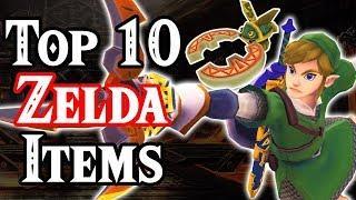 Top 10 Legend of Zelda Items