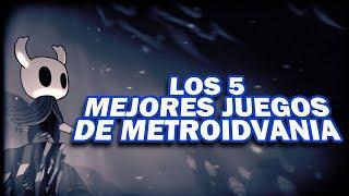 Los 5 Mejores Juegos de Metroidvania