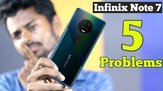 Infinix Note 7 Launched with 5 Problems || Infinix Note 7 Pros & Cons