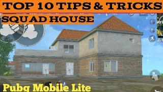 Pubg Mobile Lite Squad House Tips & Tricks | Top 10 Tips And Tricks In Pubg Mobile Lite