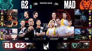 G2 Esports vs Mad Lions - Game 2 | Round 1 PlayOffs S10 LEC Spring 2020 | G2 vs MAD G-2