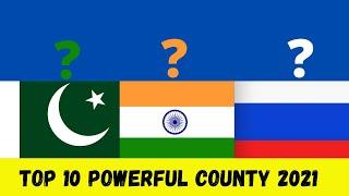 Top 10 powerful country in the world 2021   top 10 superpower country in the world 2021