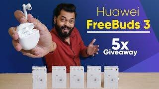 Huawei FreeBuds 3 Unboxing & First Impressions ⚡⚡⚡ ANC, Kirin A1 & More (5X Giveaway)