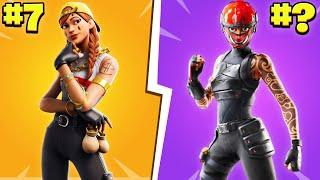 Top 10 Most TRYHARD Skins In Fortnite! Chapter 2 Season 3