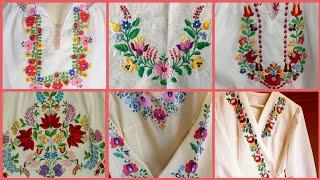 Top 10+ ! Luxury Hand Embroidery Flower ideas || Hand embroidery for Everything