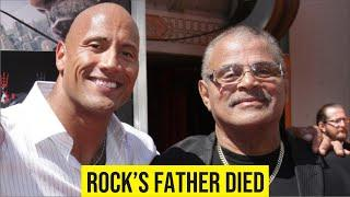 Dwayne Johnson Rock's father Rocky Johnson died