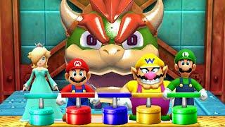 Mario Party The Top 100 MiniGames Mario Vs Luigi Vs Wario Vs Rosalina (Master Difficulty)