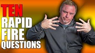10 Rapid Fire Q & A HRT | Body Fat | Cortisol Blocking