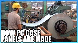 How PC Case Panels Are Made: Raw Metal Factory Tour in Taiwan, ft. Lian Li