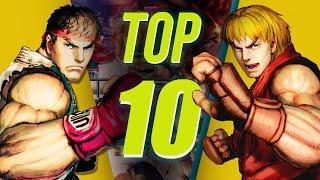 TOP 10 MOMENTOS QUE MARCARAM A HISTÓRIA DE STREET FIGHTER IV