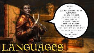 What Do People Speak? - The Languages of Tamriel - Elder Scrolls Lore