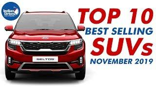 Top 10 Best Selling SUVs In The Month Of November 2019