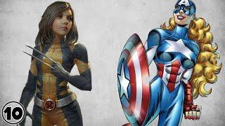 Top 10 Gender Bended Superheroes - Part 2