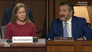 WATCH: Sen. Ted Cruz questions Supreme Court nominee Amy Coney Barrett