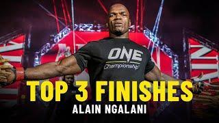 Alain Ngalani's Top 3 Finishes