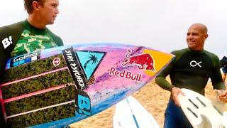 SURFING WITH KELLY SLATER & JOHN JOHN FLORENCE