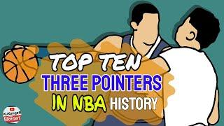 TOP 10 : THREE-POINTS SHOOTER IN NBA HISTORY